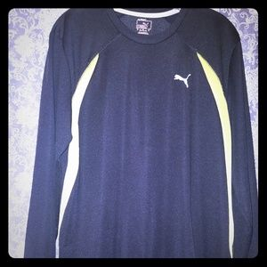 Men's Puma Long Sleeve Tee Size L